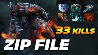 Zipfile Chaos Knight 33 FRAGS | Dota 2 Pro Gameplay