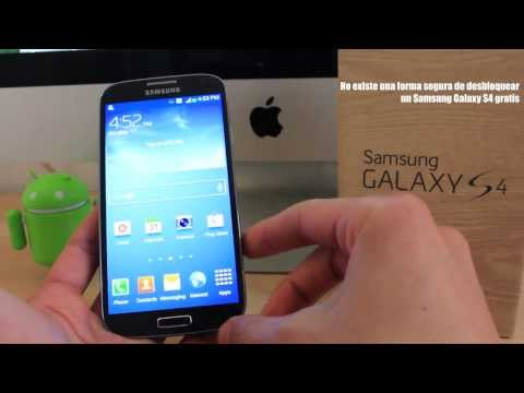 Como Liberar Samsung Galaxy S4 - Muy facil. simple y seguro!