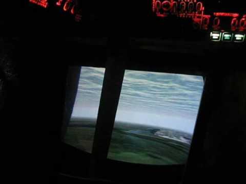 Полет на тренажере Ми-8. Mi-8 simulator flight