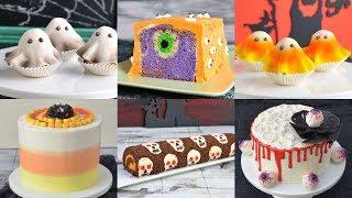 How to make AMAZING HALLOWEEN CAKES by HANIELA'S