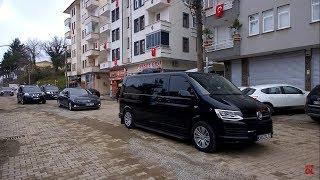 Süleyman soylu'nun sürmene'ye geliş konvoyu
