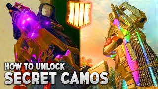 Black Ops 4: Every SECRET CAMO So Far and How to Unlock Them