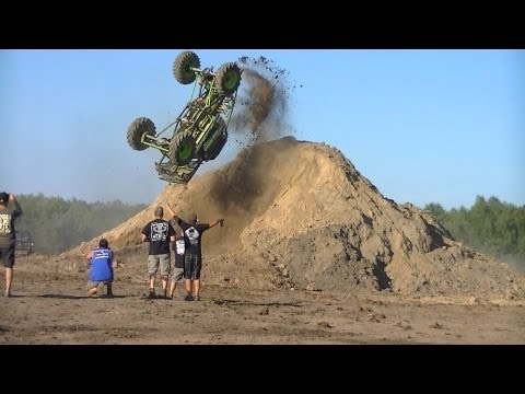 First mud truck back flip ever! Cory Rummell in Going Deep Music Videos