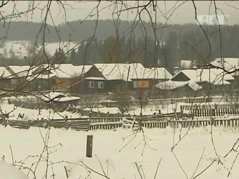 Русские деревни зимой