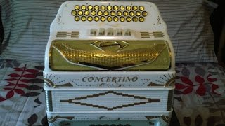 Unboxing Nuevo Acordeon Concertino 5 Registros