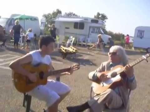 Manitas de Plata&Sandro LORIER 2009 ( Saintes Maries de la Mer )