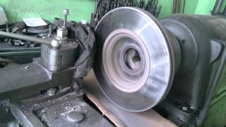 Brake Disc Fixing after they were not straight anymore....