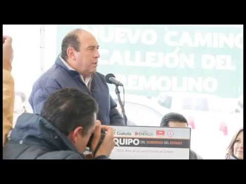 Preside Rubén Moreira colocación de la primera piedra del Centro Comercial Mirador Villas