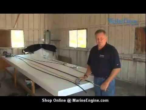 Boat Steering Cable Replacement Guide Youtube