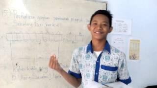Pembahasan soal UN SMP 2016 FOKUS ERLANGGA Paket 1 No  15