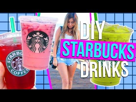 DIY Starbucks Drinks for Summer!! 3 Refreshing Drink Ideas!
