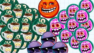 Agar.io Intense Battle With Rush Mode Solo To Team Agario Epic Gameplay!