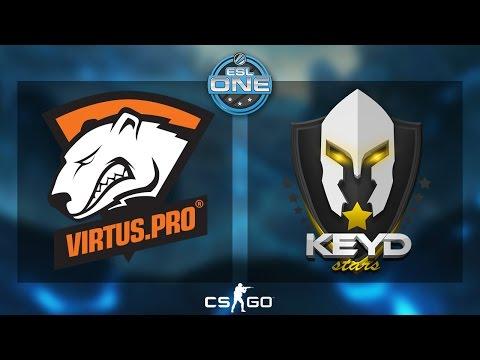 Virtus.Pro Vs Keyd Stars - ESL One Katowice 2015. ESL.TV Polska