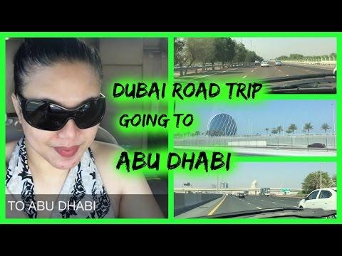 DUBAI ROAD TRIP GOING TO ABU DHABI | VLOG #006 | CANDYSOLEDAD MIX