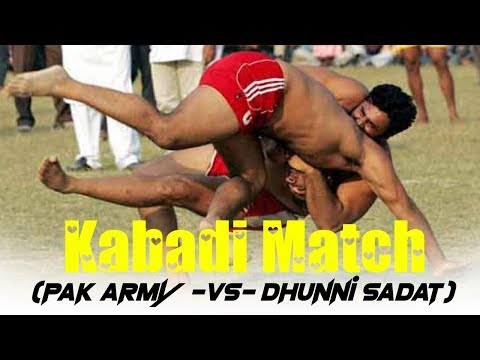 Kabadi Match (pak Army Vs Dhunni Sadat)part 2.flv video