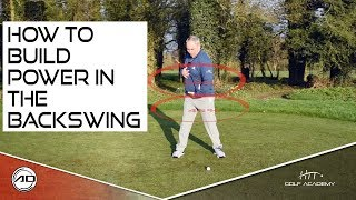How To Build Power In Your Backswing