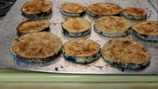 EGGPLANT - Cook with less oil - Bake or Fry - The Lighthouse Lady