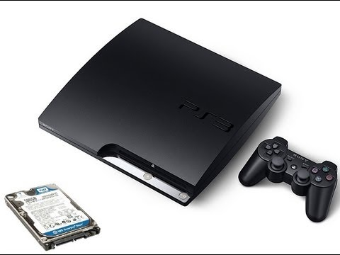 Tutorial Trocar HD e formatar  PS3 slim