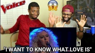 """Download Lagu The Voice 2017 Chloe Kohanski - Semifinals: """"I Want to Know What Love Is"""" (REACTION) Gratis STAFABAND"""