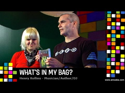 Henry Rollins - What's In My Bag?