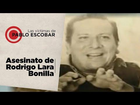 Las víctimas de Pablo Escobar parte 9 Balas asesinas de acaban con la vida de Rodrigo Lara Bonilla