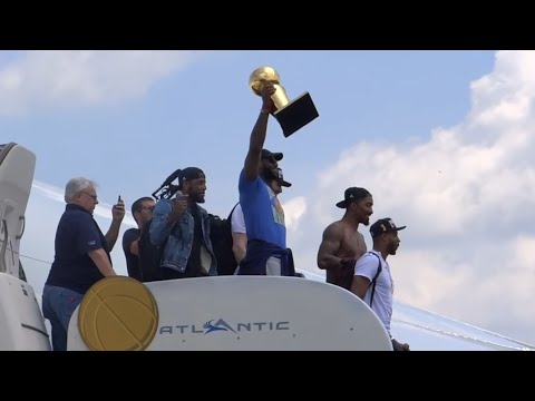 Full Movie NBA Champions Lebron James and the Cleveland Cavs Return To Cleveland