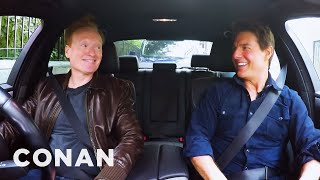 Conan Drives With Tom Cruise