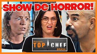 🔴TOP Chef Brasil: TRETA na BATALHA dos RESTAURANTES | Comentando o programa de 15/05/2019