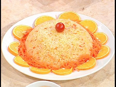 ارز بالبرتقال و الجزر على طريقة الشيف #هاله_فهمي من برنامج #البلدى_يوكل #فوود