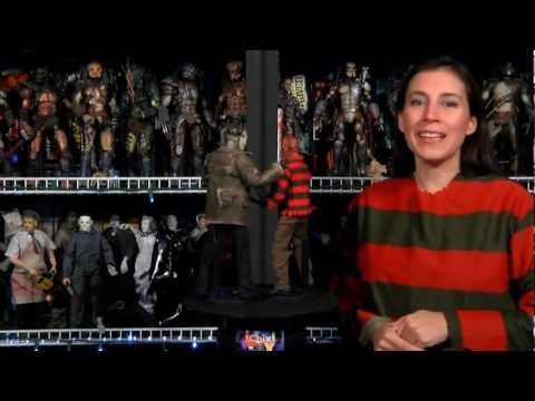 Sideshow Collectibles Freddy vs Jason 1:6 figures - Hot Chix Cool Toy Review (EP 41)