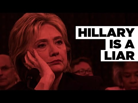 Hillary Clinton Lied about Benghazi