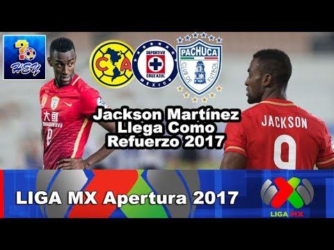 Jackson Martínez regresa a la Liga MX, Checa con quien