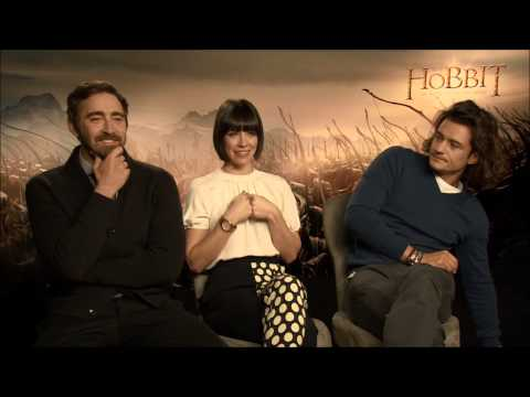 Orlando Bloom, Lee Pace, Evangeline Lilly Talk About The Hobbit