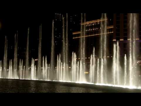 Water Dance at the Bellagio