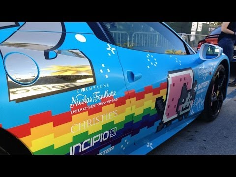Deadmau5 Ferrari For Sale Deadmau5's Nyan Cat Ferrari is