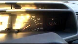 Rozruch Peugeota 205 1.8D Cold Start
