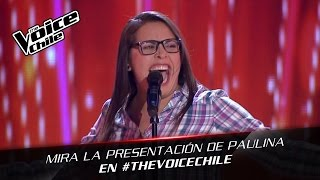 The Voice Chile | Paulina Burgos - Think