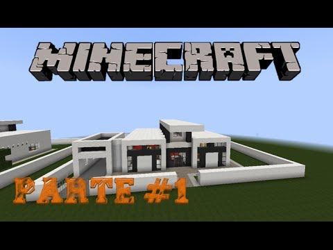 Minecraft-Como construir uma casa moderna #1 (parte 1)