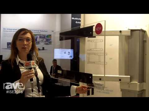 ISE 2016: SmartMetals Introduces the Swing, a Wall Lift for Touch Display