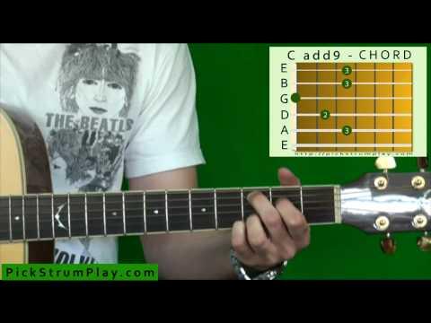 Cadd9 Chord Guitar images