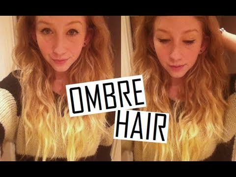How To  DIY Ombre Hair