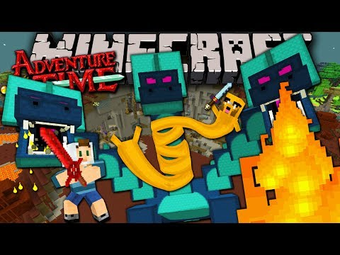 Minecraft: Adventure Time Hydra Fire Swamp Boss Trapped in Twilight Forest Episode 10