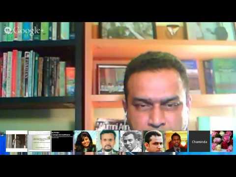 Online Energy Symposium of South Asia 2013 - Session 1 of Panel on Sri Lanka