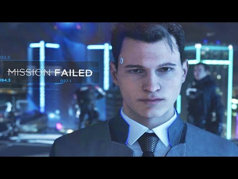 Connor Fails Every Mission - Detroit Become Human
