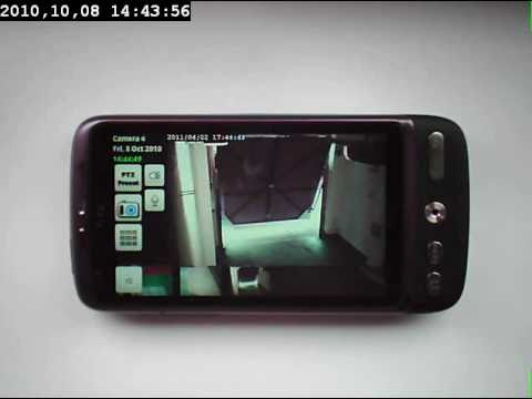 Celius-Access Entry (Demo) IP Cam Viewer Android HTC Desire