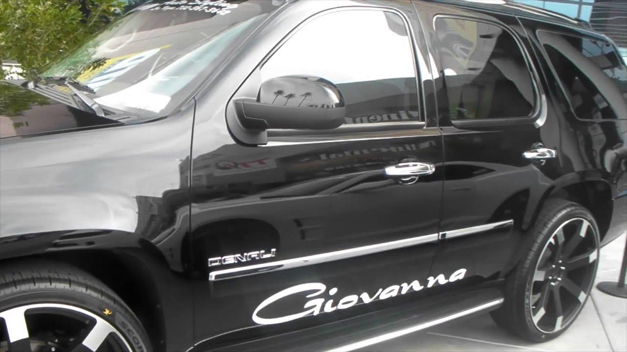 Dubsandtires com 2011 gmc yukon 26 giovanna matte black custom rims asanti wheels forgiato