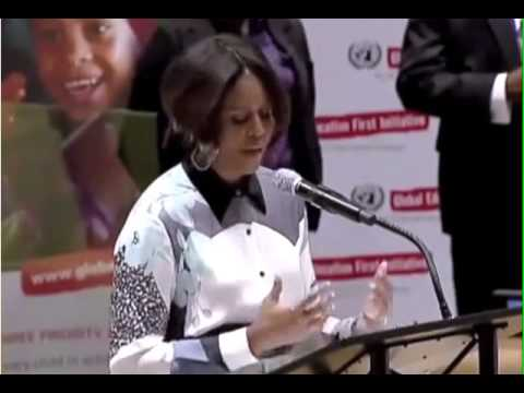 Michelle Obama Apologizes For America At The U N