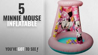 Top 10 Minnie Mouse Inflatable [2018]: Minnie Mouse New Spring 2018 Happy Helpers Playland with 15