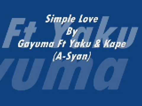 Pinoy Rap - Simple Love video