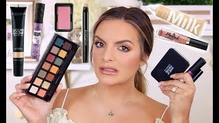 TRYING NEW MAKEUP!! HITS & MISSES! | Casey Holmes